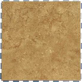 Charmant Display Product Reviews For Interlocking 5 Pack Mocha Porcelain Floor Tile  (Common:;