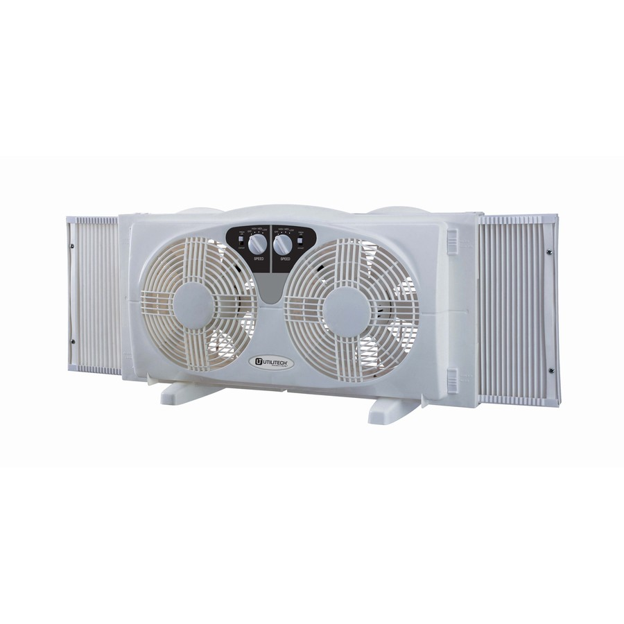 Shop Feature Comforts 8 In 3 Speed Window Fan At Lowes Com