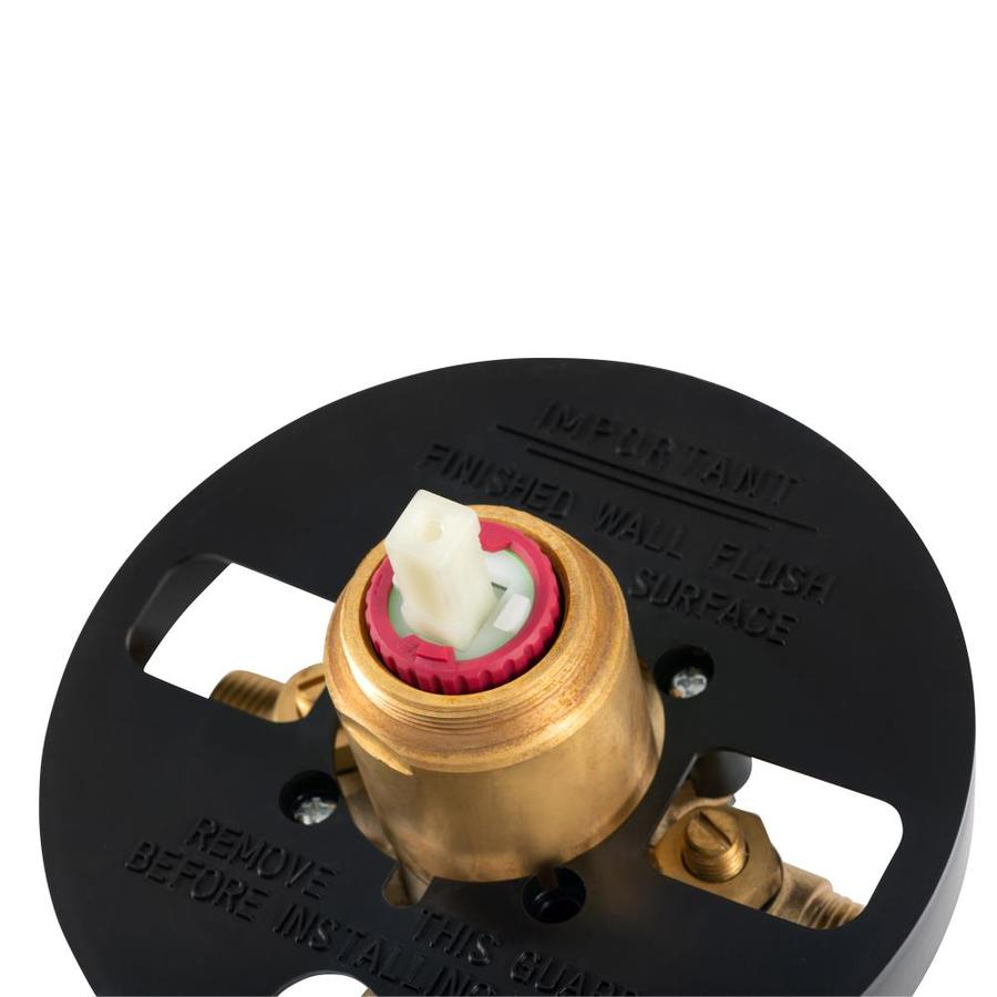 Pulse Tru Temp 1 2 In Id Mnpt Mnpt Brass Pressure Balancing Valve In The Tub Shower Valves Department At Lowes Com