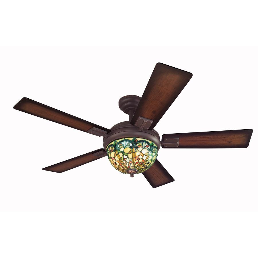 Shop Harbor Breeze 52 In Ellison Aged Bronze Ceiling Fan