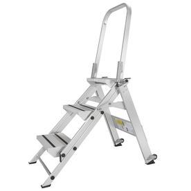 XTEND & CLIMB 3-Ft Aluminum Type 1A - 300 Lbs. Step Ladder