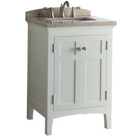 display product reviews for norbury white undermount single sink bathroom vanity with engineered stone top