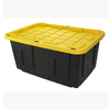 Deals on 4 Centrex Plastics Tough Box Storage Tote, 27 Gallons