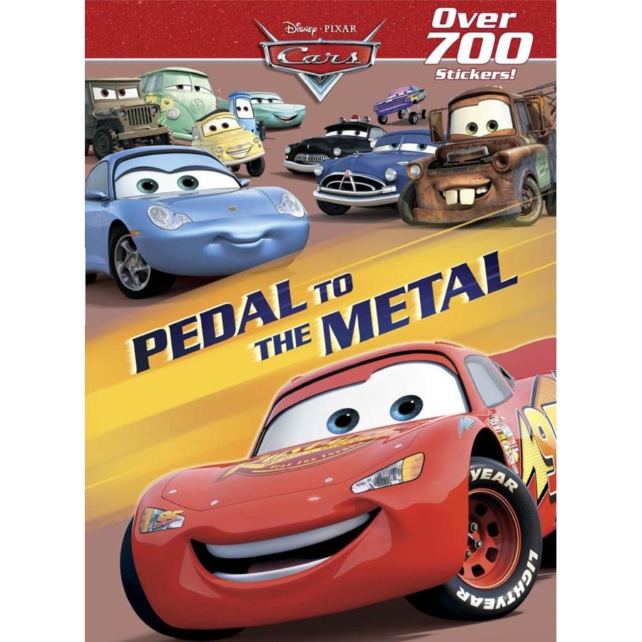 Shop Disney Pixar Cars Pedal To The Metal Sticker