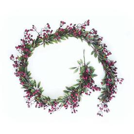 Northlight 8-in x 6-ft Indoor/Outdoor Berry Artificial Christmas Garland ATG10979261