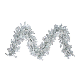 Northlight 12-in x 9-ft Tinsel Artificial Christmas Garland ATG10980502