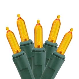 Northlight Sienna 4-Ft x 6-Ft Indoor/Outdoor Orange Incandescent Plug-in Mini Christmas Net Lights ATG10980711