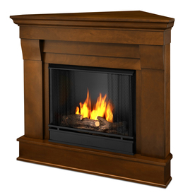 Real Flame 40.9-In Gel Fuel Fireplace 5950-E